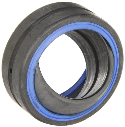 SKF GE 40 ES-2RS Spherical Plain Bearing, Double Sealed, 40mm Bore, 62mm OD, 28mm Inner Ring Width, 22mm Outer Ring Width