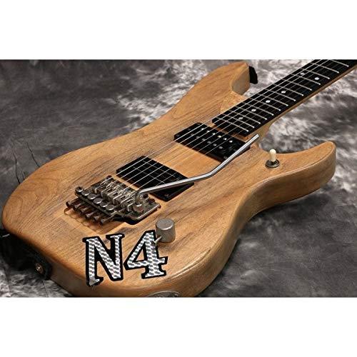 sharprepublic Jazz Bass Guitar Volume Tone Knobs Black