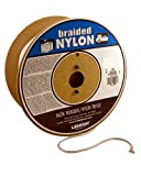Lehigh SNR1630 1/2-Inch by 300-Feet Nylon Solid Braid Rope, White