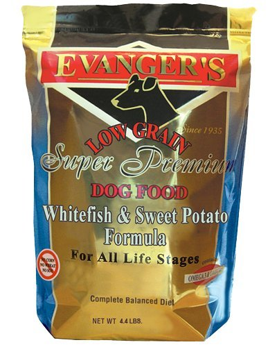 (Evangers Low Grain Super Premium Whitefish And Sweet Potato Dry Dog Food, Large)