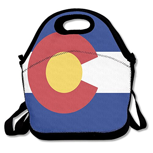 - FutongHuaxia Flag Of Colorado Outdoor Lunch Bag Lunch Box Thermal Insulated Cooler Lunch Pouch Picnic Bag For School Gift