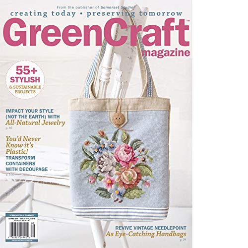 Green Craft Magazine Summer 2018 Revive Vintage Needlepoint