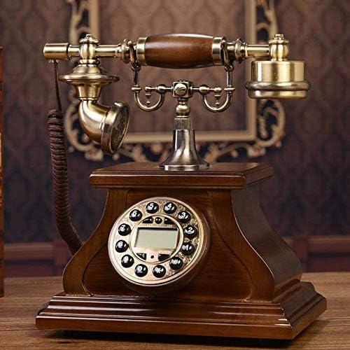 BZM-ZM 自宅電話、固定ダイヤル番号は、ナンバーアンティーク電話オールド・ホームインテリア-Aの場合はプッシュボタンで昔ながらのダイヤルを修正しました