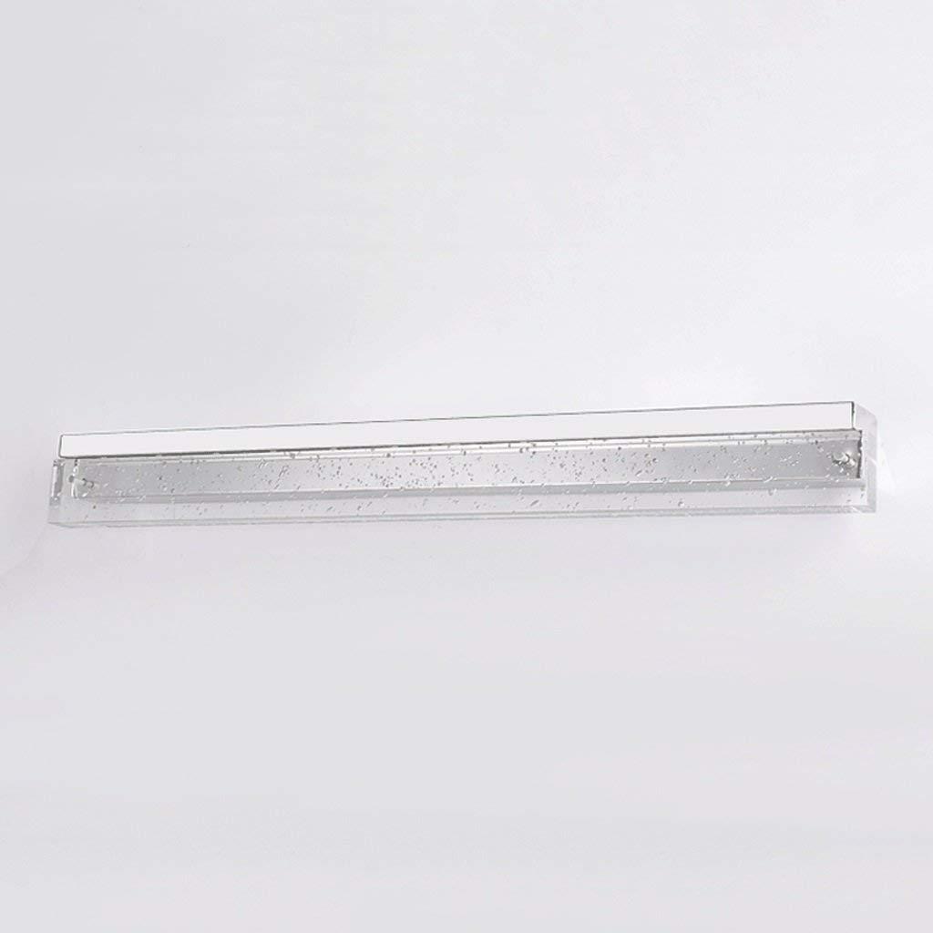 FXING Spiegel vorne Licht Edelstahl Quarz wasserdicht Simple Mode LED-Spiegel Leuchten (Größe  8 W 42 cm)