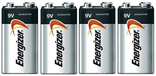 Price comparison product image Energizer E522 Max 9V Alkaline battery Exp. 03/18 or later Made in USA - 4 Count