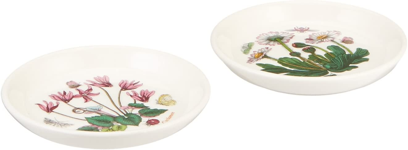 Portmeirion Botanic Garden Coasters/Sweet Dishes, Set of 2