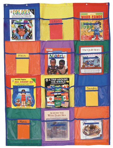 Carson Dellosa Library/Centers Pocket Chart Pocket Chart (5633)