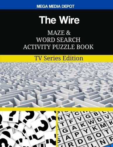 The Wire Maze and Word Search Activity Puzzle Book: TV Series Edition ebook
