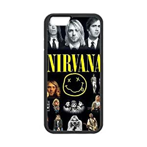 Printed Cover Protector iPhone 6s Plus 5.5 Inch Cell Phone Case Black Nirvana Vekxl Printed Cover Protector
