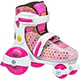 Roller Skates Fun Roll Girls' Jr. Adjustable, Medium