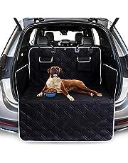 Toozey Volledige Kofferbakbescherming voor hond - Scheurvaste en Waterdichte kofferbak hondendeken met zijbescherming om de kofferbak en bumper te beschermen tegen vuil, krassen en haren - Zwart