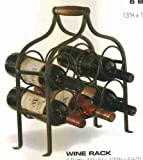 Park Designs Wine Rack- 6 Bottle Gray