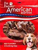 Pet Factory 28362 American Beefhide Beef Flavored Chips for Dogs, 22oz