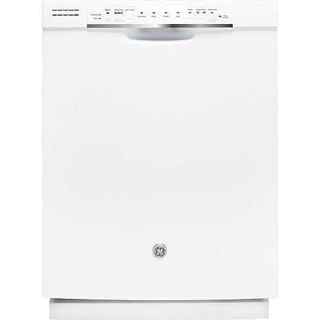 GE GDF520PGDWW Bajo encimera 16cubiertos lavavajilla - Lavavajillas (Bajo encimera, Blanco, Blanco,
