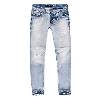 eaa04bb7c22 Jordan Craig Barcelona Denim Pants Varsity Ice Blue at Amazon Men's Clothing  store: