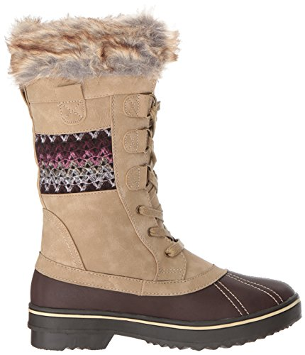 Northside Frauen Bischof Snow Boot Tan / Berry