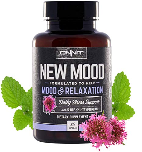 (Onnit New Mood: Daily Stress, Mood, and Sleep Support Supplement (30ct))