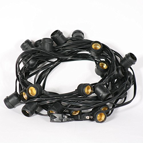 Outdoor String Lights Heavy Duty: Weatherproof Commercial Heavy Duty Vintage Outdoor Patio