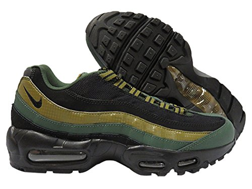 new concept 05135 2fb3c Galleon - Nike Air Max 95 Essential Mens Running Trainers 749766 Sneakers  Shoes (us 8.5 , Carbon Green Black Military Green 300)