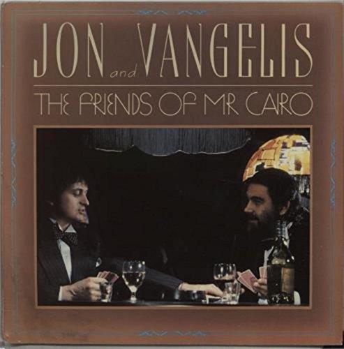 JON AND VANGELIS - FRIENDS OF MR CAIRO - LP VINYL