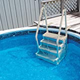 Confer Staircase Style Above Ground Pool Steps Warm Grey - STEP-1-X