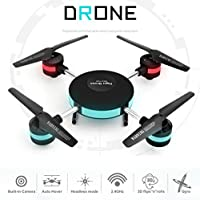 Portable Mini RC Quadcopter Drone with HD Camera,Aritone 2.4G 6 Axis HD Camera WIFI FPV RC Quadcopter Pocket Drone