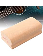 With Abrasive Paper Guitar Sanding Block For Guitar Players And DIY Enthusiasts For Guitar Lover(7.25 inch arc wood block)