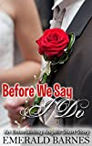 Before We Say I Do: An Entertaining Angels Short Story