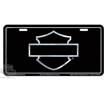 amazon com harley davidson outline shield license plate automotive rh amazon com harley davidson logo outline stencil harley davidson logo outline images