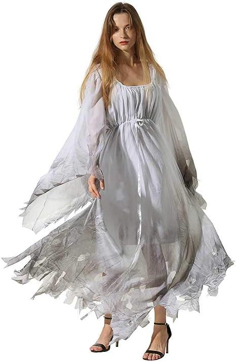 GLXQIJ Disfraz De Halloween para Mujer Tallas Grandes Scary ...