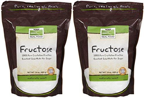 Sugar Fruit Fructose - NOW Foods Fructose Fruit Sugar - 24 oz - 2 pk