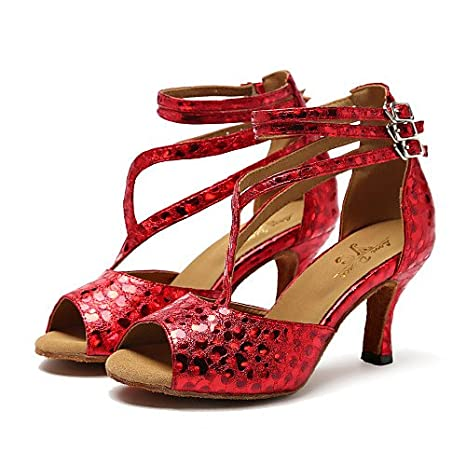 100% di alta qualità scegli il più recente design moderno T.T-Q Donna Scarpe da Ballo Tacchi Sintetico Stiletto Heel ...