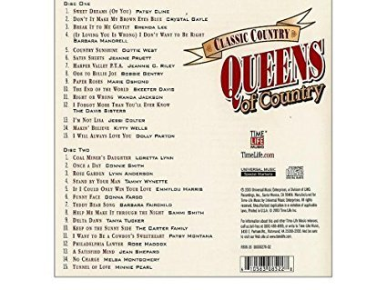 Classic Country: Queens Of Country (Time Life) ()