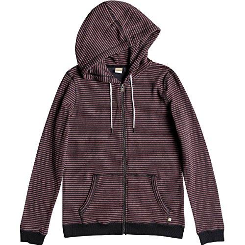 Roxy Junior's Trippin Zip up Fleece Sweatshirt, Turbulence Thin Stripe April, L by Roxy