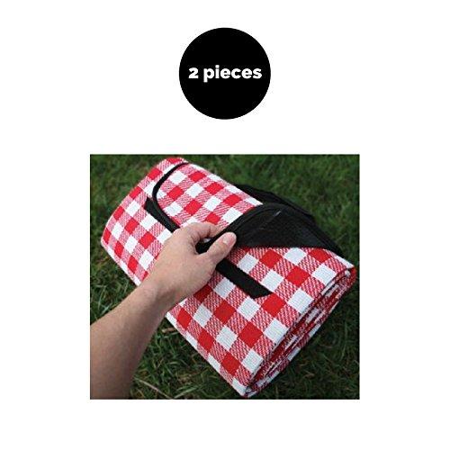 ซื้อที่ดีที่สุด Camco Durable Waterproof Backing Picnic fbb75118d