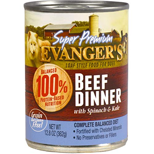 Evanger's Super Premium Dinner for Dogs, 12-12.5 oz Cans