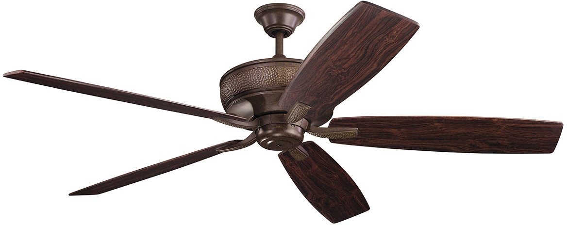 "Kichler Lighting 300206TZ 70"" Ceiling Fan from The Monarch Collection, Tannery Bronze"