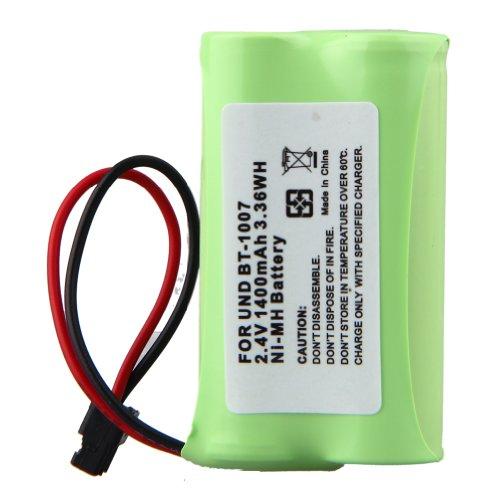 Cbc 206 Cordless Phone Battery - ELEOPTION 1600mAh Cordless Phone Battery for Uniden BT-1007 Compatible with Lenmar