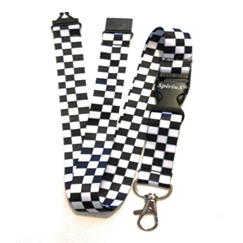 SPIRIUS Breakaway Lanyard Neck strap for ID badge Holder key