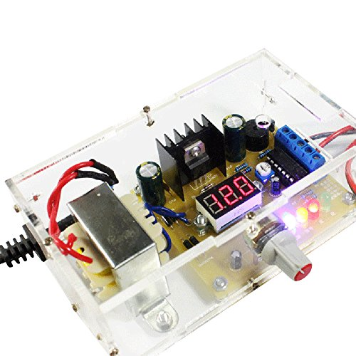 KKmoon LM317 1.25V-12V Continuously Adjustable Regulated Voltage Power Supply DIY Kit US