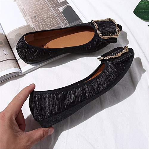 e lavoro 32 FLYRCX da EU donna EU nere comode comode da scarpe 32 morbide scarpe Scarpe morbide e FqOqxwBXS