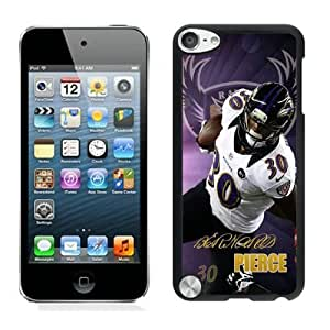 NFL&Baltimore Ravens Bernard Pierce ipod Touch 5 phone cases&Gift Holiday&Christmas Gifts PHNK625505