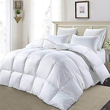 MoSurprise Luxury 100% White Goose Down Duvet King Size 13.5 Tog Winter  Warm Duvet Insert 9f2b47ba5