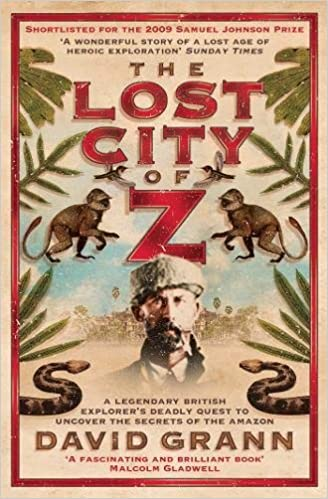 z audiobook lost city of the