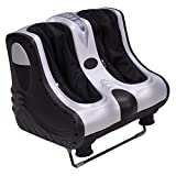 AW-80W-Heat-Kneading-Rolling-Leg-Calves-Ankle-Foot-Massager-Personal-Health-Salon-Care-Silver-ABS