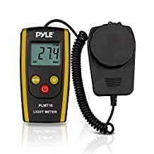 Pyle-Pro PLMT16-Digital Handheld Photography Light Meter Measures Lux and Lumens