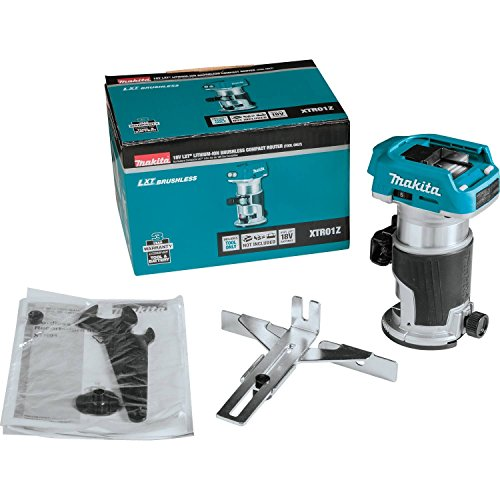 Makita XTR01Z 18V LXT Lithium-Ion Brushless Cordless Compact Router by Makita (Image #5)