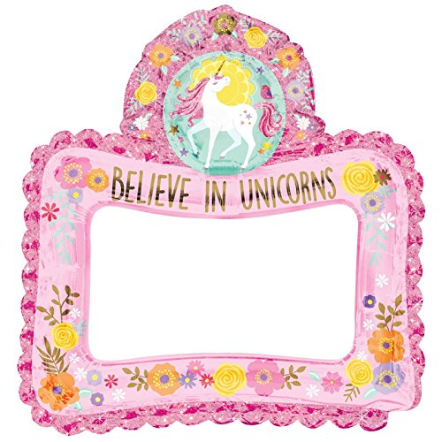 Unicorn Party Photo Booth Props Unique Party 72509 Set of 10 NEW