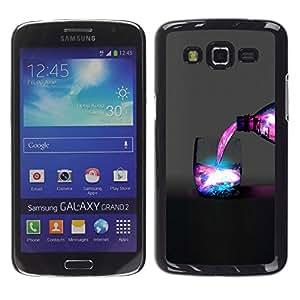 iKiki Tech / Estuche rígido - Espacio Galaxy Bebida - Samsung Galaxy Grand 2