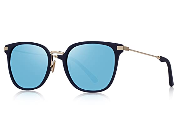 b3bb7ad6a9 Amazon.com  OLIEYE Fashion Polarized Sunglasses for Women Men UV400  Mirrored Lens O6177  Clothing
